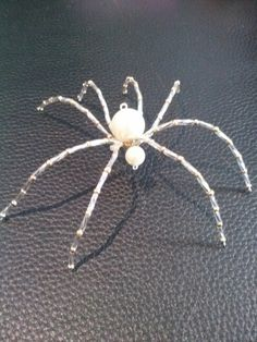 Crystal and pearl spider
