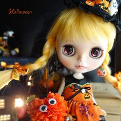Kyohiroカスタムブライス☆Happy Halloween♪_画像1