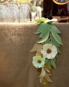 Erin Heath, Paper Flower Garlands