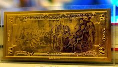 Tờ 2 usd mạ vàng 24k có giá bao nhiêu