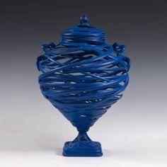 """Maelstrom, by Michael Eden -ceramics, semi-liquid clay, and technology. Contemporary Ceramics, Modern Ceramics, Contemporary Art, High School Ceramics, 3d Studio, Sculpture Painting, Pottery Art, Pottery Ideas, Ceramic Art"
