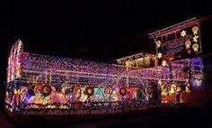 Cool Christmas Lights On Houses -
