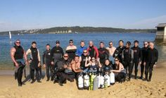 Cracking day out from Sydney Harbor... The Instructor candidates were learning how to teach the PADI Deep Instructor program. Loads of fun and sooo many awesome memories.