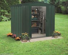 Garden Sheds 6x7 arrow metal sheds:salem 8' x 6' arrow shed - sa86, sa108