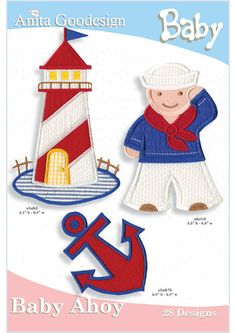 Anita Goodesign | Baby Ahoy - Babies, sailors, nautical themes - everything you need :)