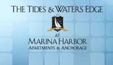 The Venice beach apartments at the Tides and Waters Edge offer studio, one, two, and three bedroom waterfront apartments for rent in Los Angeles. The Tides and Waters Edge at Marina Harbor apartments are located on the water in Marina Del Rey, CA.