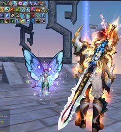 Robusk é um char do game Perfect World MMORPG (PW) - Guardião - Arcano