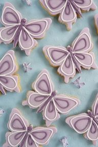 butterfly cookie designs - Google Search