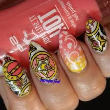 Image result for sailor moon nails Sailor Moon Nails, Summer Nails, Nail Polish, Image, Summery Nails, Manicure, Summer Nail Art, Polish, Gel Polish