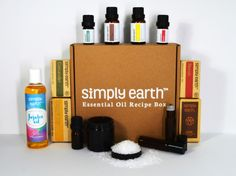Help me win a Simply Earth September Essential Oil Recipe Box! Easy to enter & quick. Oil Recipe, Recipe Box, Make A Gift, Eyeliner, Goodness Sake, Essential Oils, Essentials, Good Things, Canning