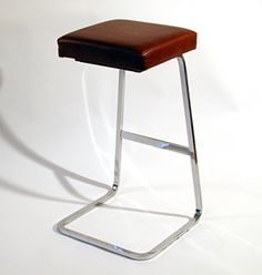 Four Seasons barstool. Designed by Mies van der Rohe.