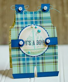 This little boy card was created using the @Karen Jacot Jacot Boudreau and an adorable stamp designed by Samantha Walker for @Marsha Penner Penner Grove Stampers.