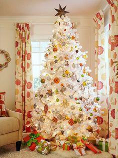 Bright White Christmas Tree