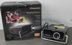 shopgoodwill.com: Discovery 120` Wonderwall Projector for DVD/Game
