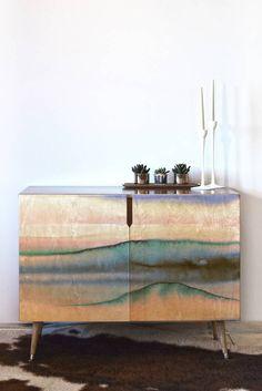 DENY Designs Amy Sia Mystic Dream Pastel Credenza | Domino