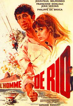 MOVIE POSTERS: L'HOMME DE RIO (1964)