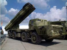 9К58 BM-30 Smerch Multiple Rocket Launcher (Russia)