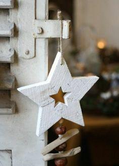 Weihnachtssterne basteln vorlagen kinder weiß holz