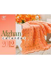 Afghan Pattern Books - Afghan Calendar 2012 - Crochet Sale