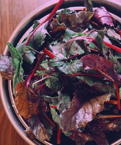 スムージーに入れるアグリアート農園@agriartさんのビーツの葉っぱアグリアートさん沢山ありがとうございます#food#vegetables#organicfood#organic #smoothie#superfoodsmoothie by acquaminerale_official