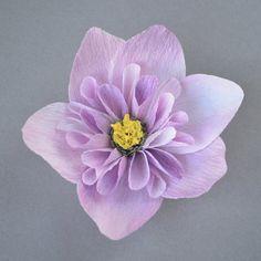 Handmade crepe paper flowers                                                                                                                                                                                 More