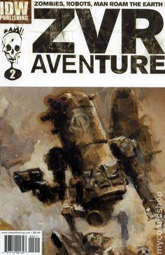 Zombies vs. Robots Aventure (2009 IDW) 2A