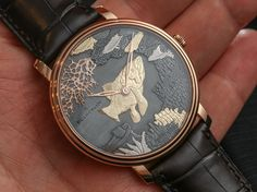 Blancpain Villeret Shakudo Ganesh and Coelacanth Engraved Dial Watches Hands-On