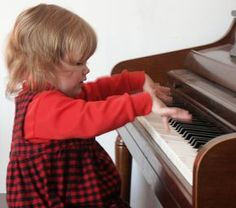 Begin teaching piano to twos and threes