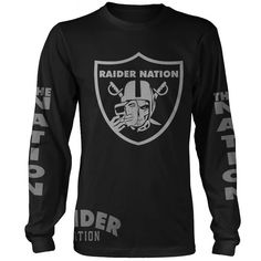 Raiders T Shirt, Raiders Girl, Mens Clothing Sale, Men's Clothing, Cut Tee Shirts, Oakland Raiders, Raiders Football, Football Stuff, Raider Nation