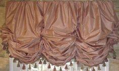 Balloon Shade Valance-over 100 color choices Custom Made - Keller Schlafzimmer Tie Up Curtains, Door Curtains, Luxury Curtains, Curtains Living, Bathroom Curtains, Balloon Curtains, Balloon Shades, Custom Shades, Custom Window Treatments
