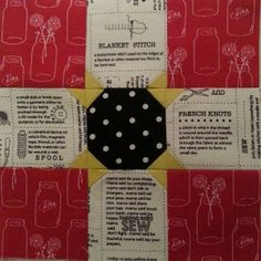 Block 64 designed by Kathy Brown: Rising Star