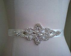 VENTA boda correa cinturón nupcial marco por LucyBridalBoutique