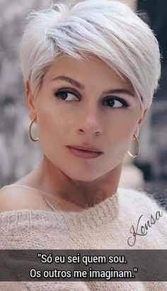 14 New Best Pixie Cut Ideas for 2020 Short Grey Hair Cut Ideas Pixie Short Grey Hair, Short Hairstyles For Thick Hair, Short Pixie Haircuts, Curly Hair Styles, Curly Short, Pixie Haircut Round Face, Blonde Pixie Hairstyles, Hair Short Bobs, Thick Short Hair Cuts
