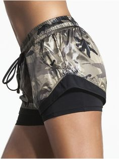 Division Double Layer Shorts