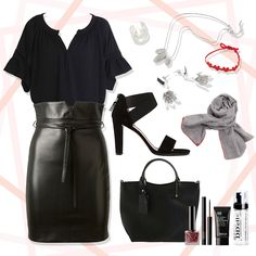 [Sharea Styling tips] L'Ange noir  Used Items: Find out here: https://www.facebook.com/the.sharea