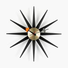 Not quite a sundial, but at least a Sunburst Clock.