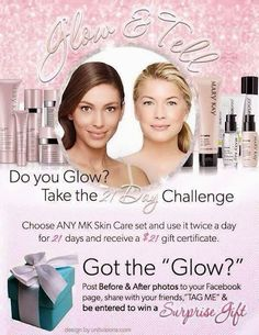 Join my Mary Kay Team in the month of April and receive the Day and ...