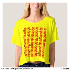 Ink Tiles  shirt lpanema