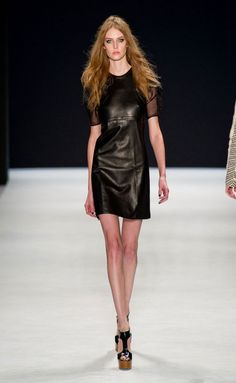 Jill Stuart Ready To Wear Spring Summer 2014 New York #MBFW #NFW Cute date night look.