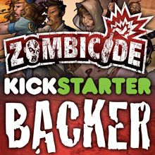 Zombicide is a collaborative game for 1 to 6 players developed by Guillotine Games and published by CoolMiniOrNot.  A game lasts for 20min (beginner board) to 3 hours (expert board).    They're doing Kickstarter to drive down production costs by making more copies.  There are the various pledge levels.  They appreciate any help they can get!  The more money they raise, the more benefits pledgers get.    http://www.kickstarter.com/projects/coolminiornot/zombicide