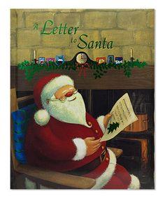 Look at this #zulilyfind! A Letter to Santa Paperback #zulilyfinds