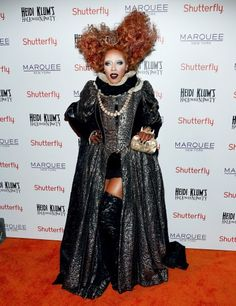 Urban Princess: Celebrity Sightings June Ambrose attends Shutterfly Presents Heidi Klum's 14th Annual Halloween Party sponsored by SVEDKA Vodka and smartwater at Marquee in New York City.