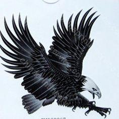 Celtic Hawk Tattoo Flying hawk eagle tattoo
