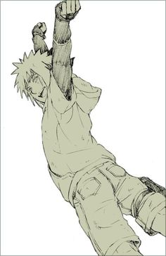 Kid Minato fanart. I'd totally be okay with a filler arc about his early days as a ninja.