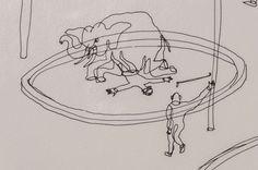 calder circus | Alexander Calder Circus Drawings Alexander calder