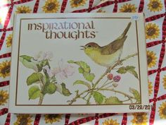Vintage Current Inspirational Thoughts  Powell Note Cards New Old Stock Paper Ephemera by EvenTheKitchenSinkOH on Etsy