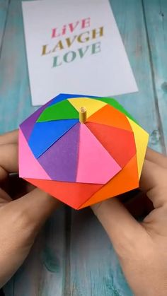 Lovey colorful unbrella papercrafts paperdiy handmadecrafts paperart diy earrings supplies and easy instructions! Recycled Paper Crafts, Paper Crafts Origami, Paper Crafts For Kids, Diy Paper, Paper Crafting, Paper Art, Diy Crafts Hacks, Diy Crafts For Gifts, Diy Arts And Crafts