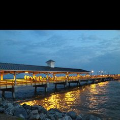 tonight @ St. Simon Island, GA's pier