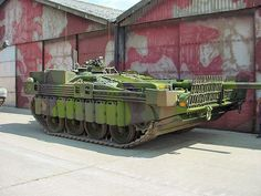 Swedish Stridsvagn 103 Main Battle Tank (S Tank)