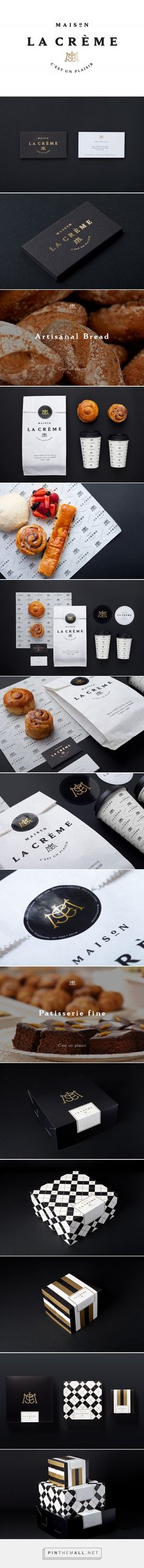 Maison La Crème Bakery Branding and Packaging by Analogo | Fivestar Branding Agency – Design and Branding Agency & Curated Inspiration Gallery